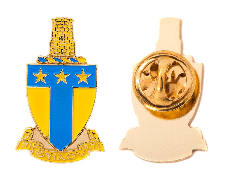 Desert Cactus Alpha Tau Omega Fraternity Crest Lapel Pin Enamel Greek Formal Wear Blazer Jacket ATO