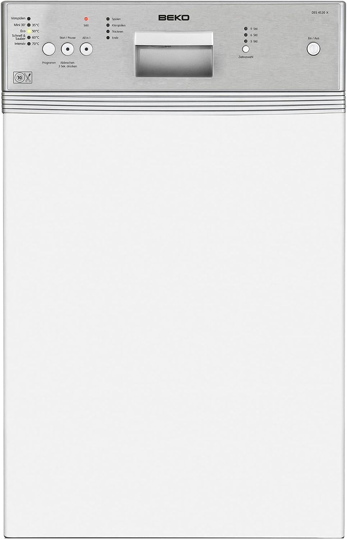 Beko DSS 4530 X lavavajilla - Lavavajillas (Totalmente integrado ...