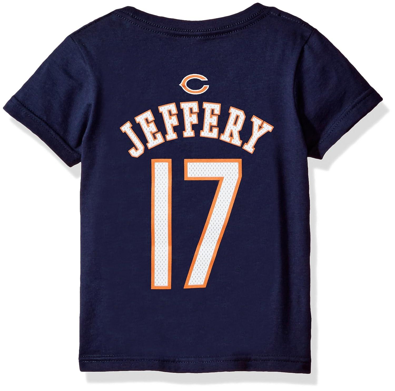 【送料無料】 NFL幼児用AlshonジェフリーChicago Bears Mainliner Name Tall & Name Number半袖Tee、深いオブシディアン、3 Mainliner Tall B06WVFPTRH, トドホッケムラ:7972ca2c --- a0267596.xsph.ru