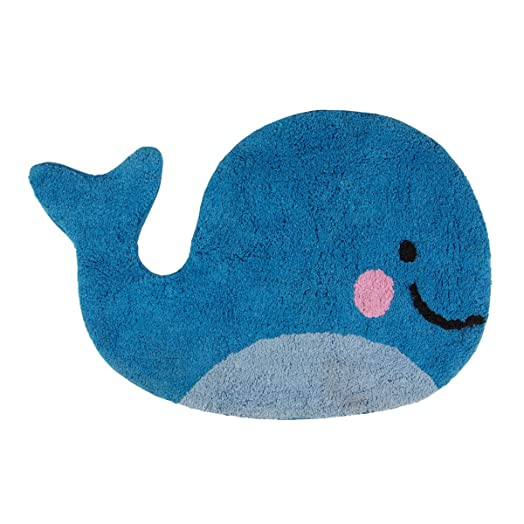 Exceptional Sass U0026 Belle HAPPY WHALE RUG Blue