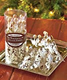 Gourmet Mini Marshmallow Chocolate Stirrers Hand Poured for Tea Coffee Hot Chocolate