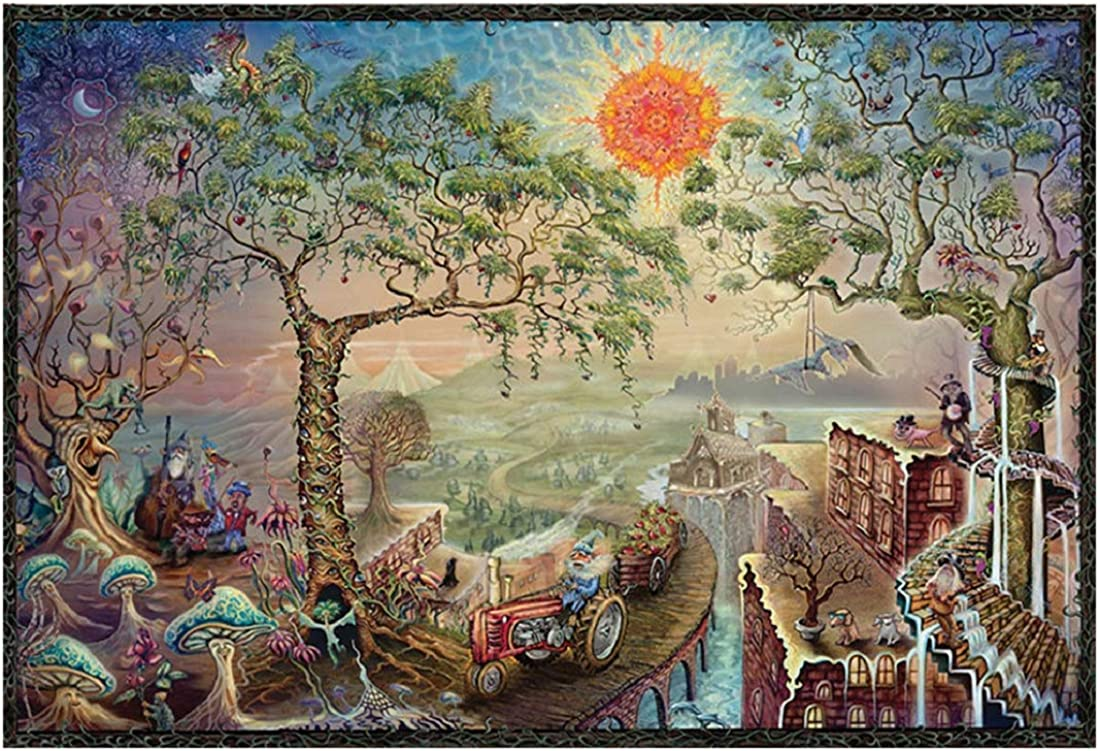 1000 Piece Jigsaw Puzzle Vintage Paintings Landscape Jigsaw Puzzles Large Puzzle Game Artwork für Kids und Adult