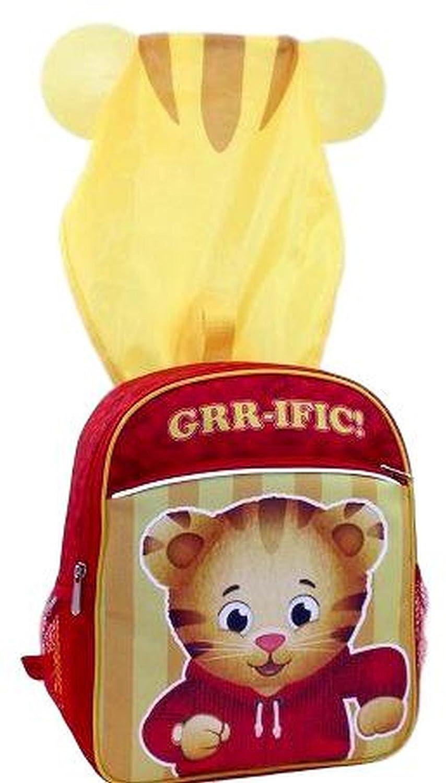 Amazon.com: Daniel Tigers Neighborhood Backpack for Kids Boy Hooded Wearable 14 Back Pack: Gem 360