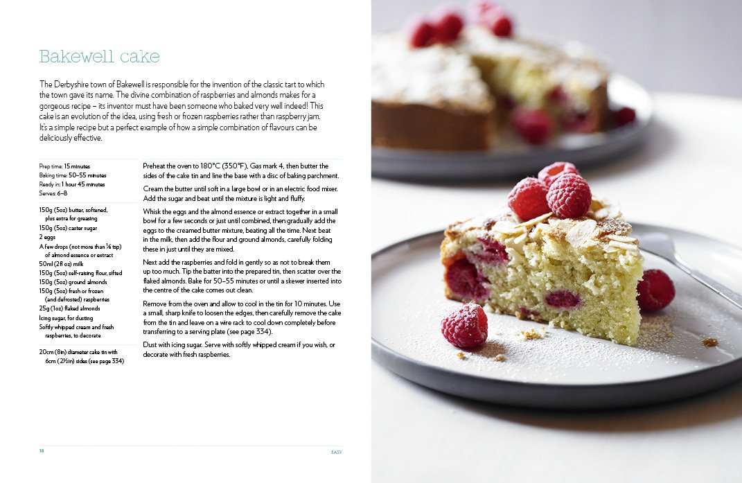 Recipe on how to bake a cake