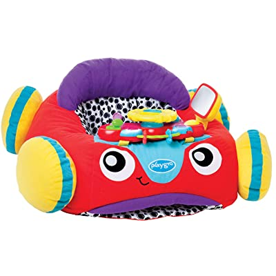 Playgro 0186362 Music and Lights Comfy Car for Baby Infant Toddler Children, Playgro is Encouraging Imagination with STEM/STEM for a Bright Future - Great Start for a World of Learning : Baby