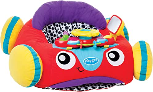 Playgro Baby Music and Lights Comfy Car,Red