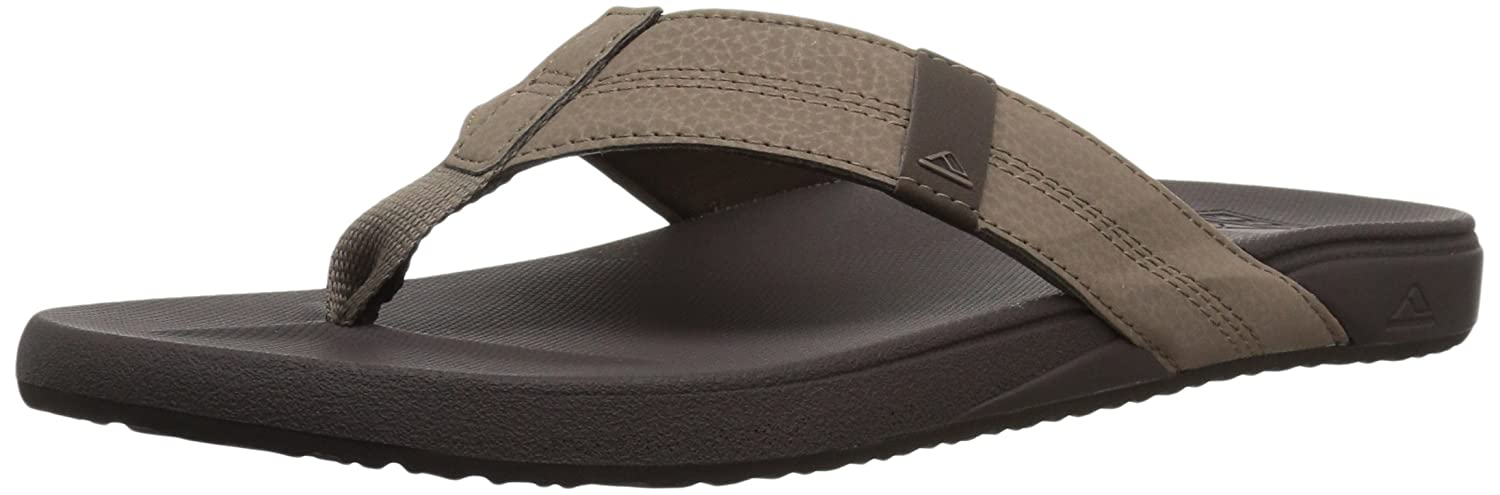 Reef Mens Sandals Phantom | Flip Flops for Men with Cushion Bounce Footbed | Waterproof Cushion Bounce Phantom