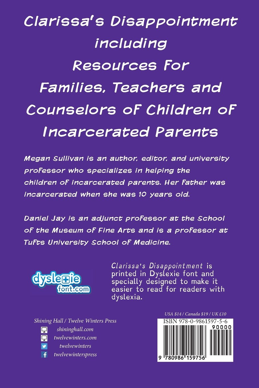 clarissa s disappointment and resources for families teachers clarissa s disappointment and resources for families teachers and counselors of children of incarcerated parents megan sullivan