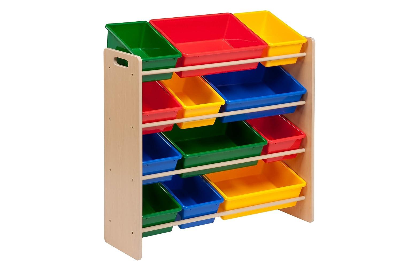 toy storage furniture. amazoncom honeycando srt01602 kids toy organizer and storage bins naturalprimary kitchen u0026 dining furniture