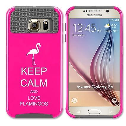Amazon.com: Samsung Galaxy S6 Carcasa Impacto duro ...