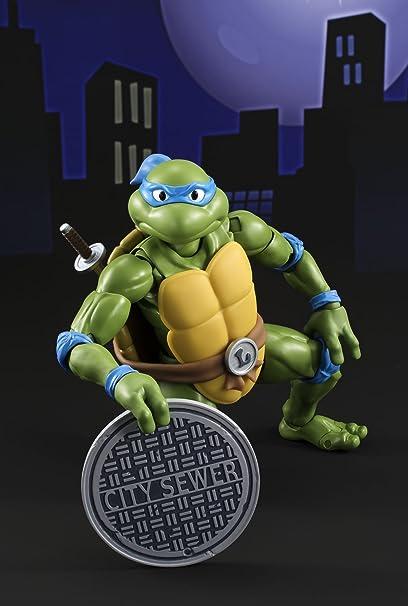 BANDAI-Las Tortugas Ninja Figura Articulada, 15 cm ...