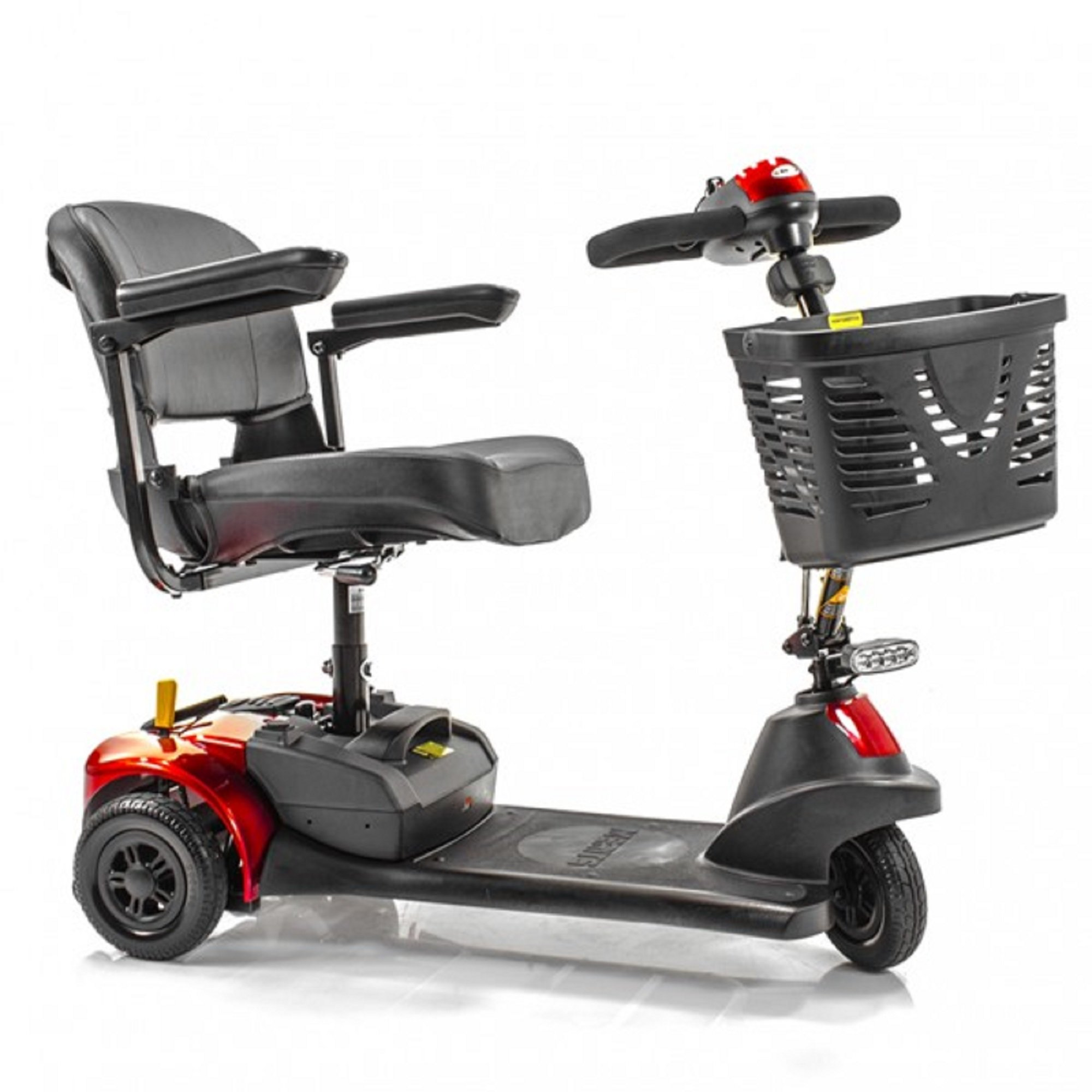 Merits Health Products - Roadster Deluxe - 3-Wheel Scooter - 18''W x 15''D - Red - PHILLIPS POWER PACKAGE TM - TO $500 VALUE by ROADSTER (Image #2)