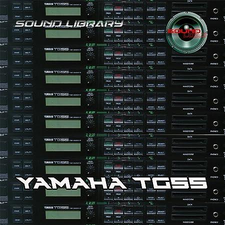 YAMAHA TG55 Gran Fábrica Original y NUEVO Creado Biblioteca ...
