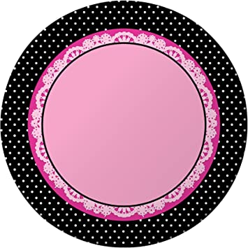 Super Stylish Dinner Plates Party Accessory  sc 1 st  Amazon.com & Amazon.com: Super Stylish Dinner Plates Party Accessory: Toys u0026 Games