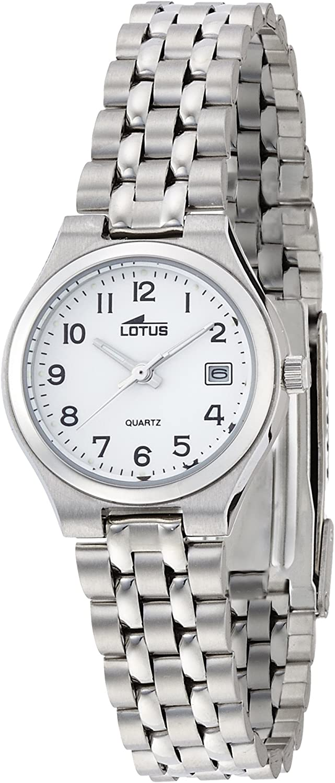 Lotus Reloj Analógico para Mujer de Cuarzo con Correa en Acero Inoxidable 15032/2