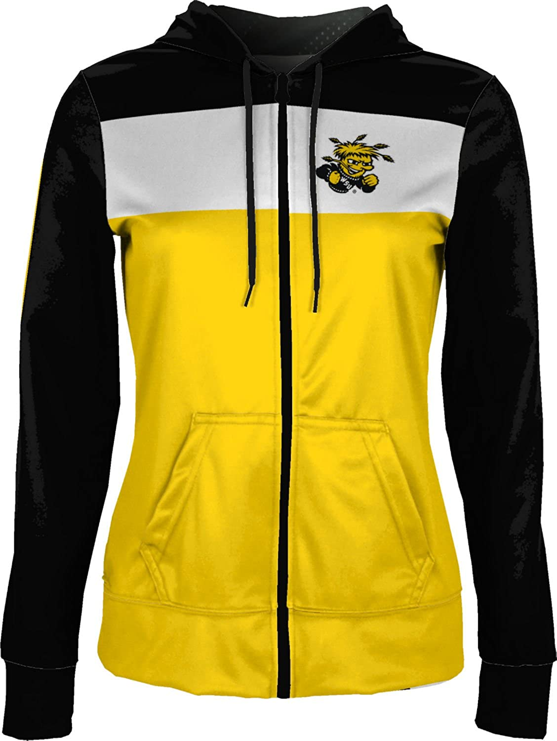 Wichita State University Girls Zipper Hoodie School Spirit Sweatshirt Prime