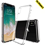 DIGITAL NANNY IPhone X Case iphone 10 Case,Transparent & Clear, Drop-proof Soft Phone Shell,Gel & Slim Case For iphoneX ,(Support Wireless Charging). Protetive Bumper Case for Iphone 5.8'