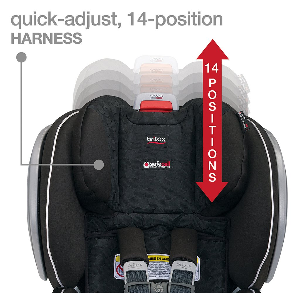 quick adjust 14 position harness
