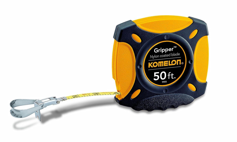 Komelon 9905 Gripper Closed Case Long Steel Tape Measure 50 Feet