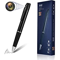 Hidden Spy Camera Pen Nanny Camera Pen HD 1080P Video Recorder, Spy Kit Body Camera Portable Pocket Mini Camera 150…