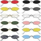 Amazon.com: AOOFFIV - Gafas de sol ovaladas con marco de ...