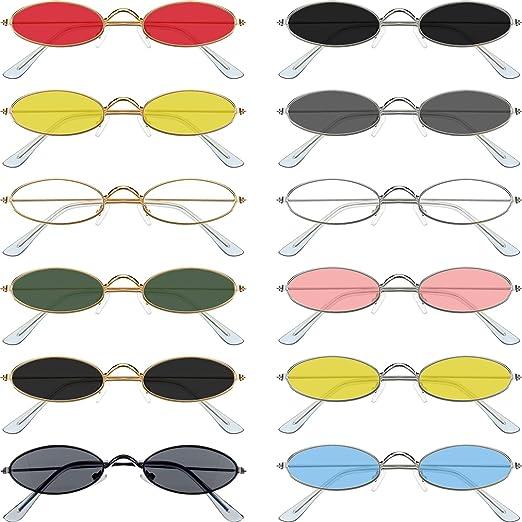 Vintage Men Women Cat Eye Oval Shades Sunglasses Fashion Eyewear Retro Glasse