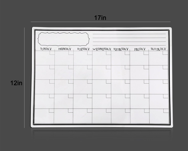 Kühlschrank Planer : Villexun k�hlschrank planer monatlich beschriften und