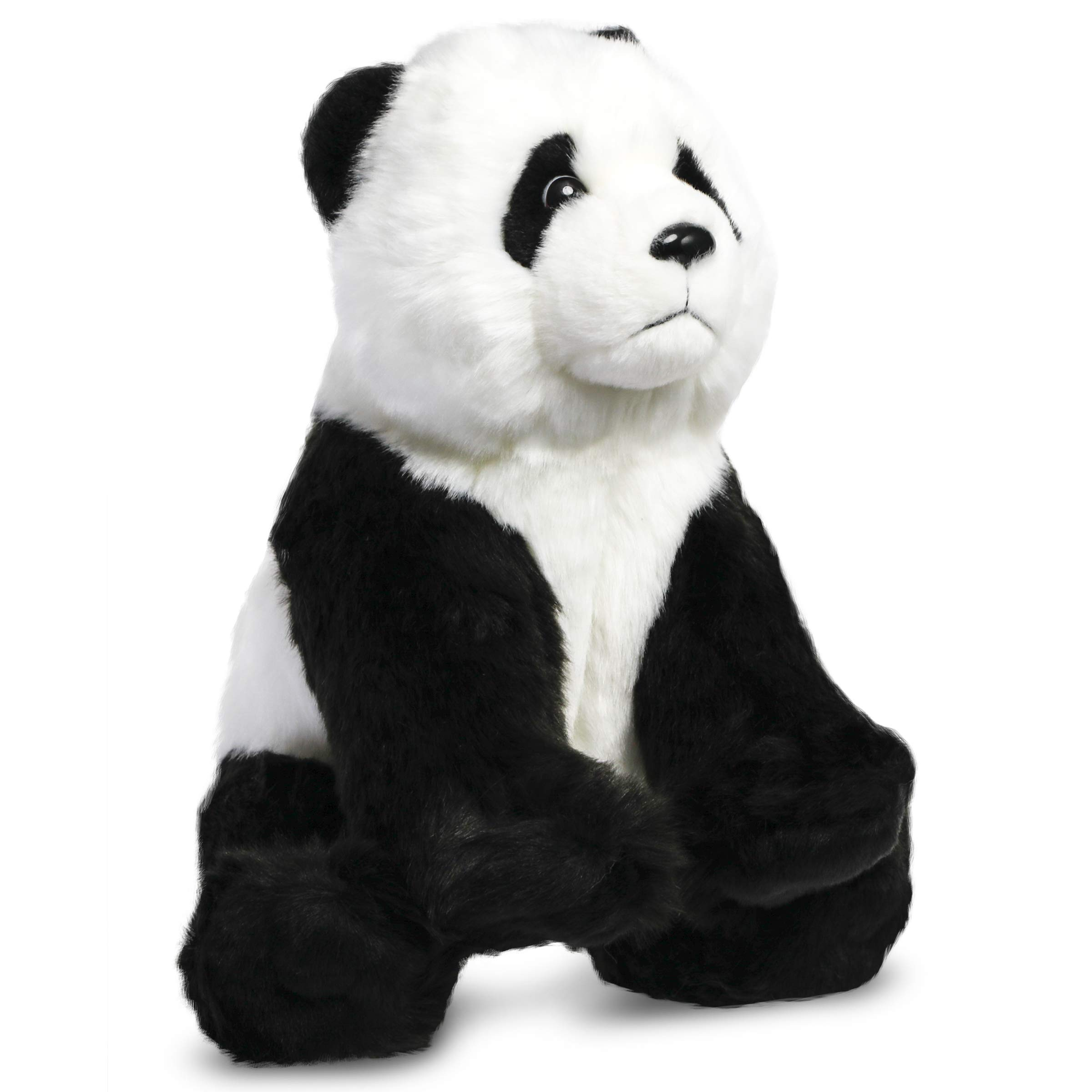 FAO Schwarz 10'' Panda Plush Stuffed Animal Toy, Ultra Soft and Snuggly Doll for Creative and Imagination Play, for Boys, Girls, Children Ages 3 and Up, Playroom & Nursery Pretend Zoo Pet by FAO Schwarz