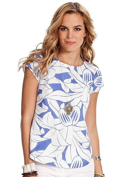 e12f6e778 Island Company Nathalie Capricorn Linen Shirt at Amazon Women's ...