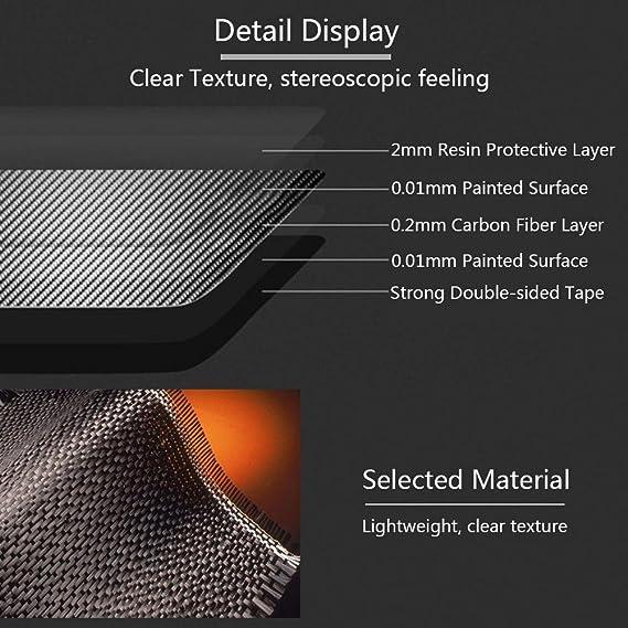 Keenso Auto Innere Kohlefaser Schalthebel Knopf Rahmen Dekor Aufkleber Abdeckung Für Stelvio Giulia Zubehör Auto Styling Auto
