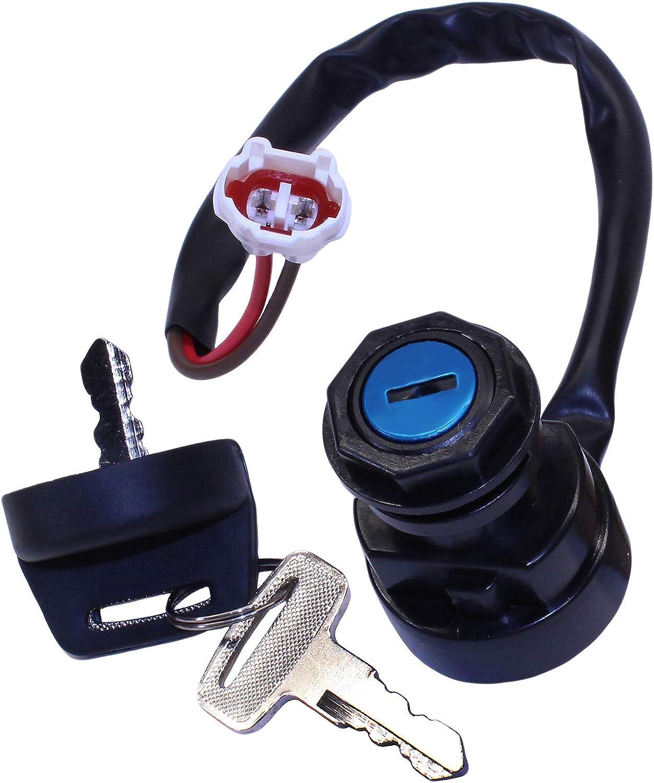 Ignition Key Switch YAMAHA RAPTOR 350 YFM350 2004 2005 2006 2007 2008 2009 2010 2011 2012 ATV