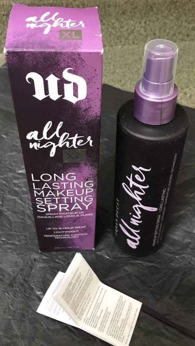 All Nighter Makeup Setting Spray, 8.11 fl. oz. (XL) Jumbo