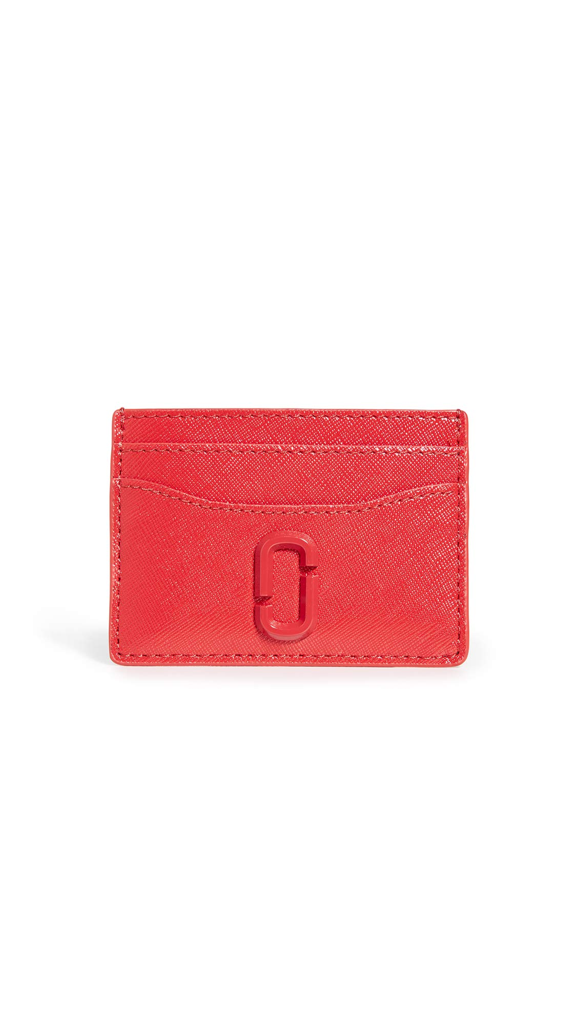 Marc Jacobs Women's Snapshot Card Case, Geranium, Red, Pink, One Size by Marc Jacobs