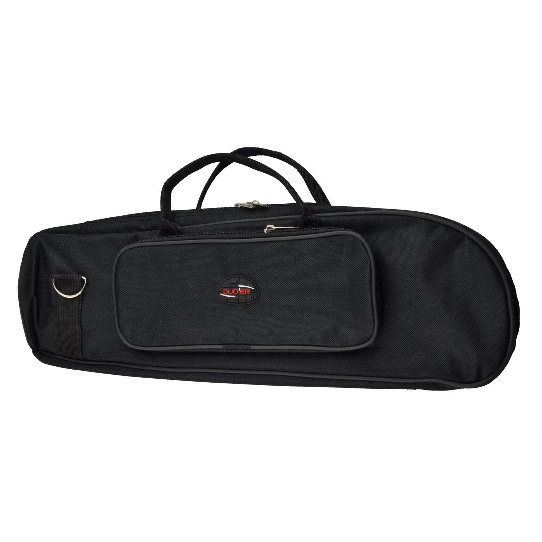 SODIAL(R) New Trumpet Soft Case Nylon Gig Bag Black 045734
