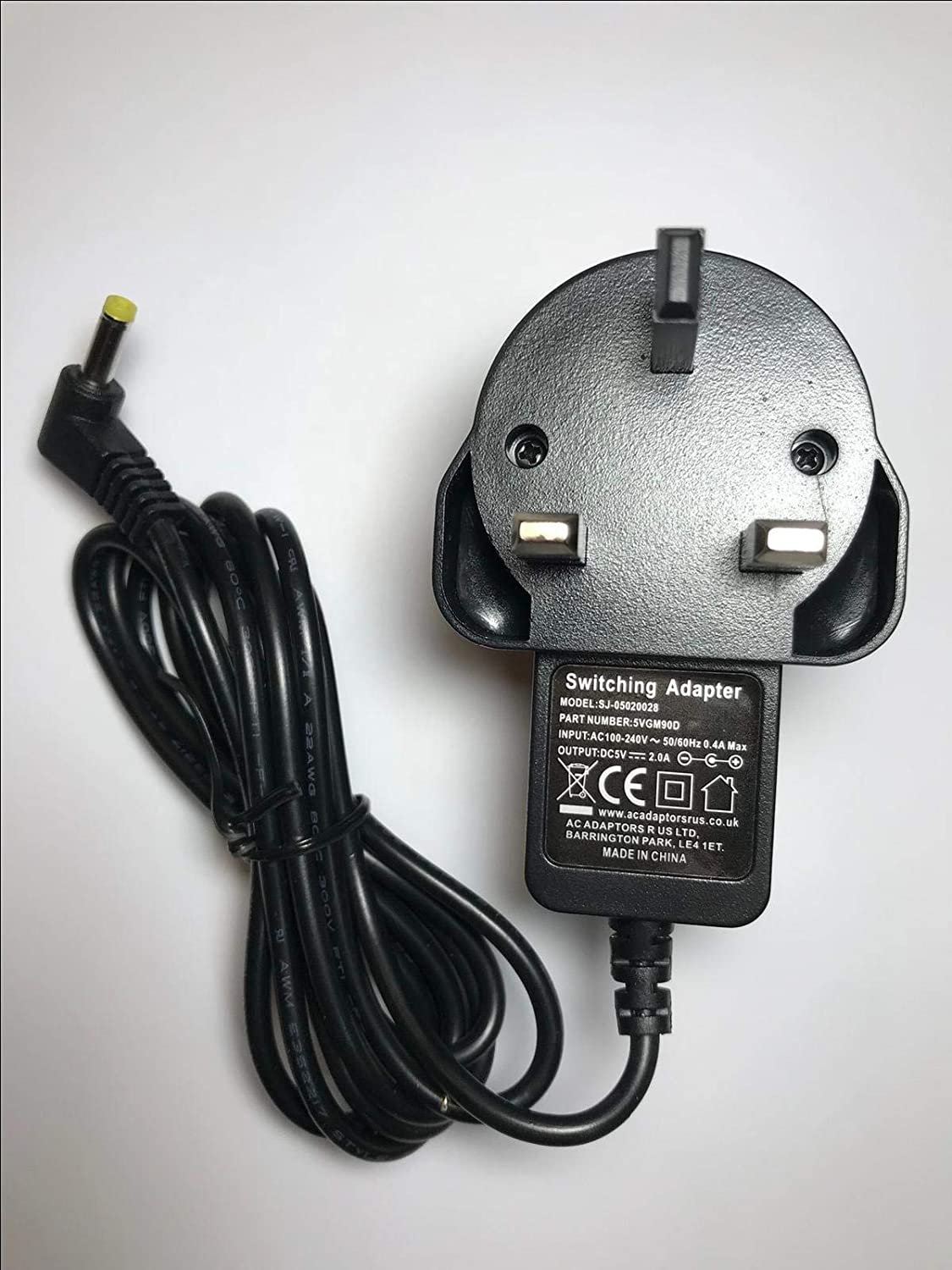 5V 2A 2000mA Toshiba Journe Air Photo Frame Mains AC-DC Adaptor Power Supply UK ACAdaptorsRUS