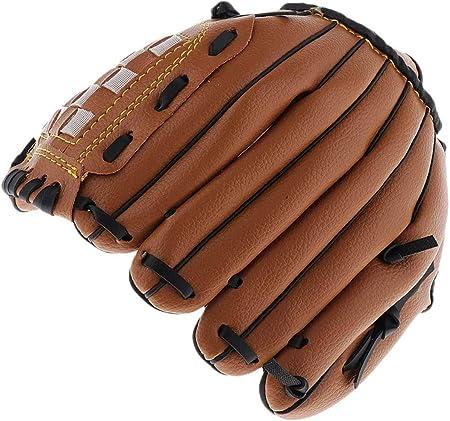ZYYRSS Gant de Baseball Gants de frappeur de Sport avec pichet /épaississant en Cuir PU Solide et Souple Gants de Softball 12,5 Pouces pour Jeunes Adultes Gant de la Main Gauche