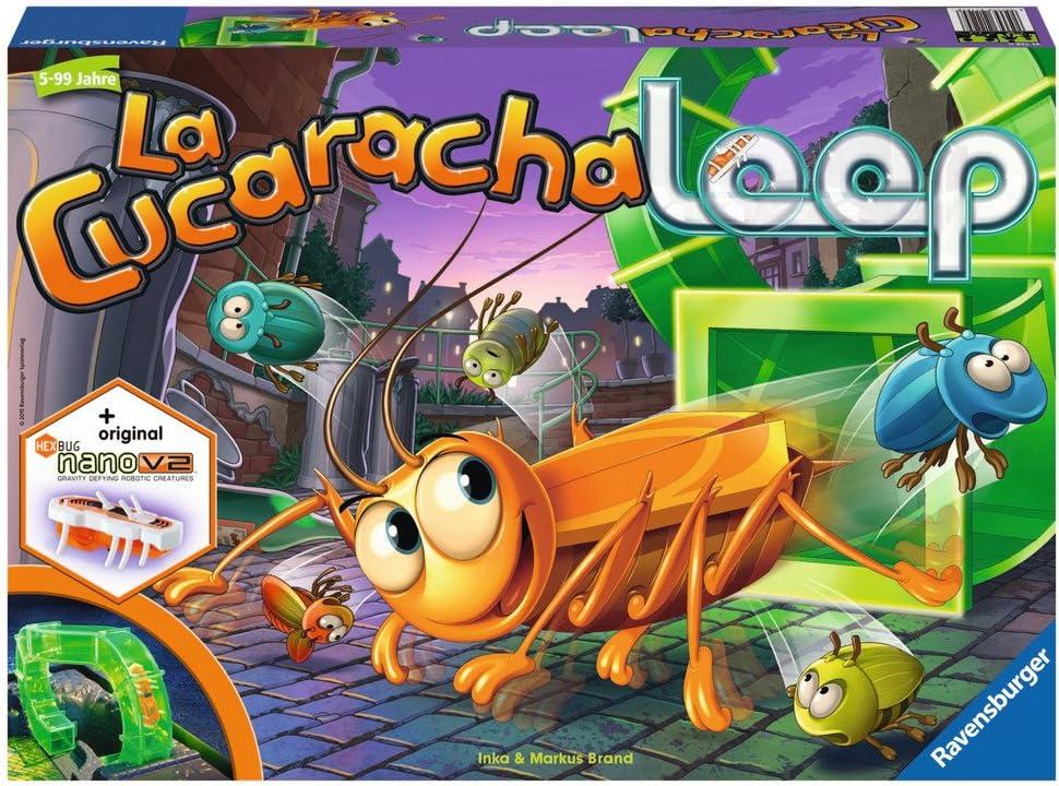 Ravensburger - La Cucaracha Loop, Juego Educativo (21125 8): Amazon.es: Juguetes y juegos