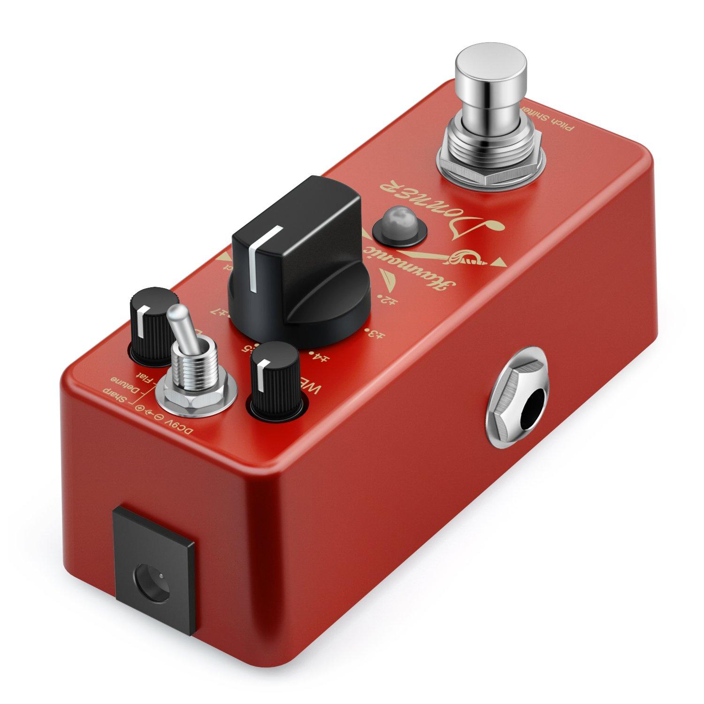 Donner Digital octava Guitarra Pedal de Efectos Harmonic Square 7 modos: Amazon.es: Instrumentos musicales