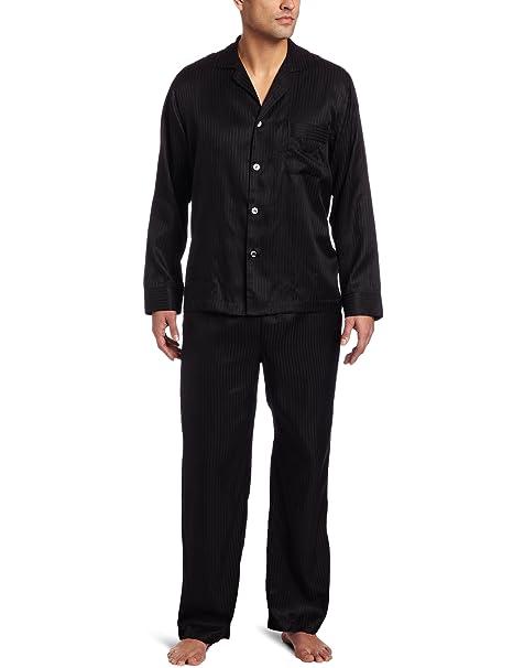 Amazon.com: BOSS Hugo Boss Hombre tela Seda Pajama Set, M ...