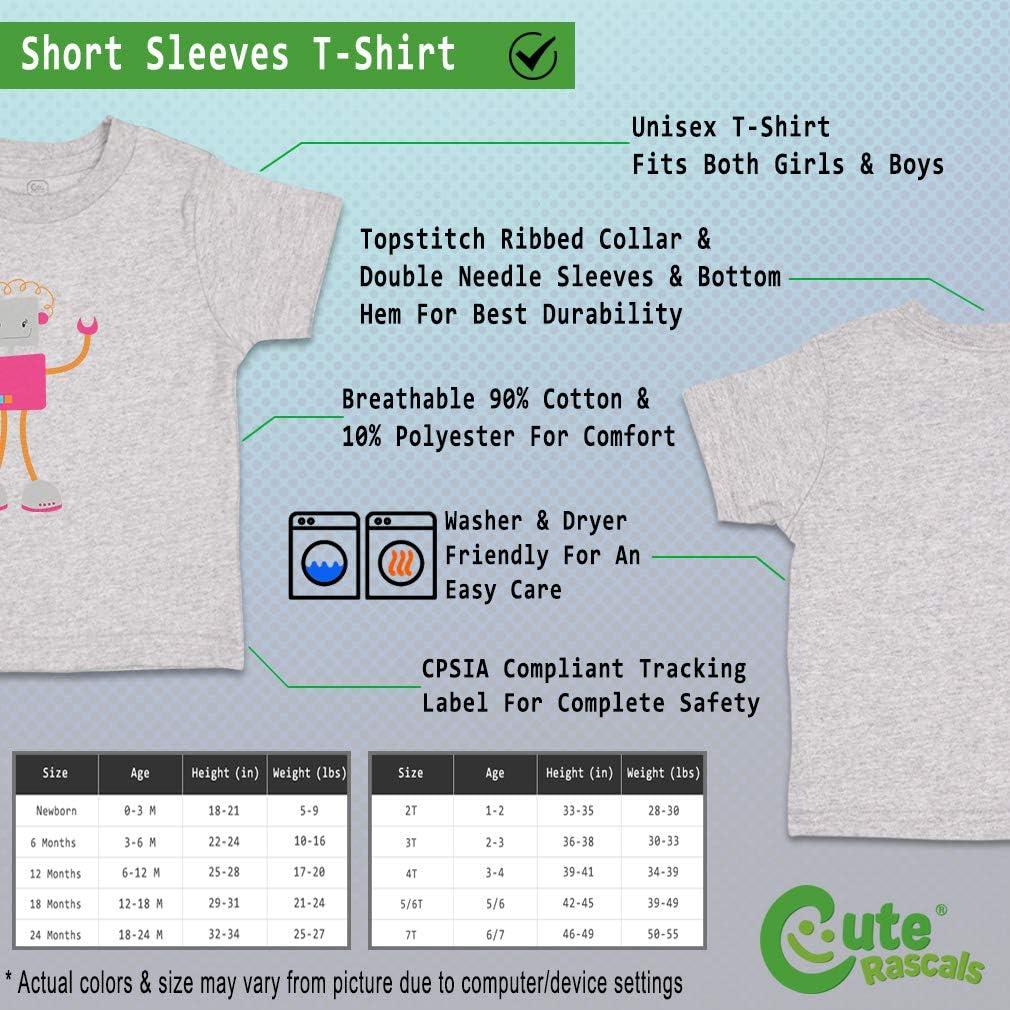 Custom Baby /& Toddler T-Shirt Mrs Robot 2 Cotton Boy Girl Clothes