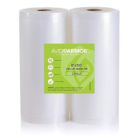 Amazon.com: 2 rollos de bolsas para sellar al vacío ...