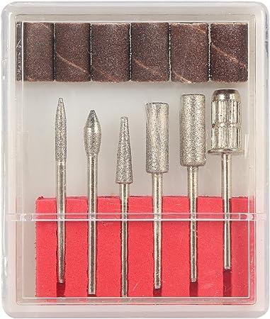Manicura Pedicura eléctrica Limas de uñas máquina de pulido de uñas eléctrica profesional: Amazon.es: Belleza
