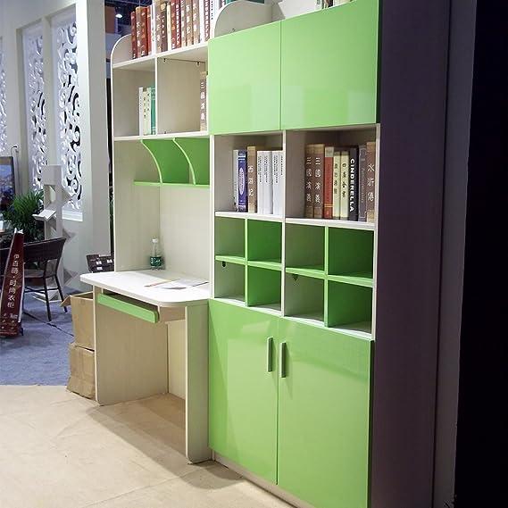 KINLO 0.61 x 5M PVC Papel Pegatina Autoadhesivo de Mueble de Cocina / Puerta del Armario de Pared Pintado Adhesivo para Muebles - Verde: Amazon.es: Hogar