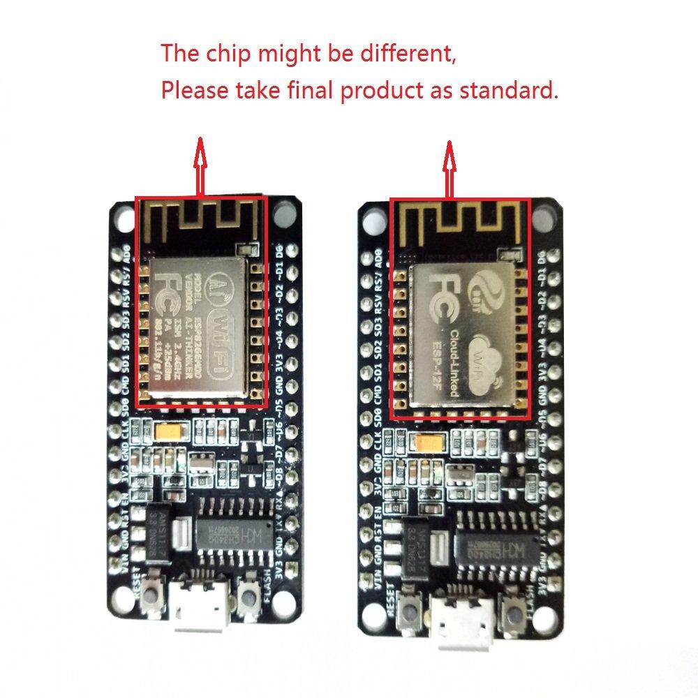 KOOKYE NodeMCU LUA Devkit IoT Starter Kit Based on ESP8266 Support WiFi mqtt and Arduino IDE: Amazon.es: Electrónica