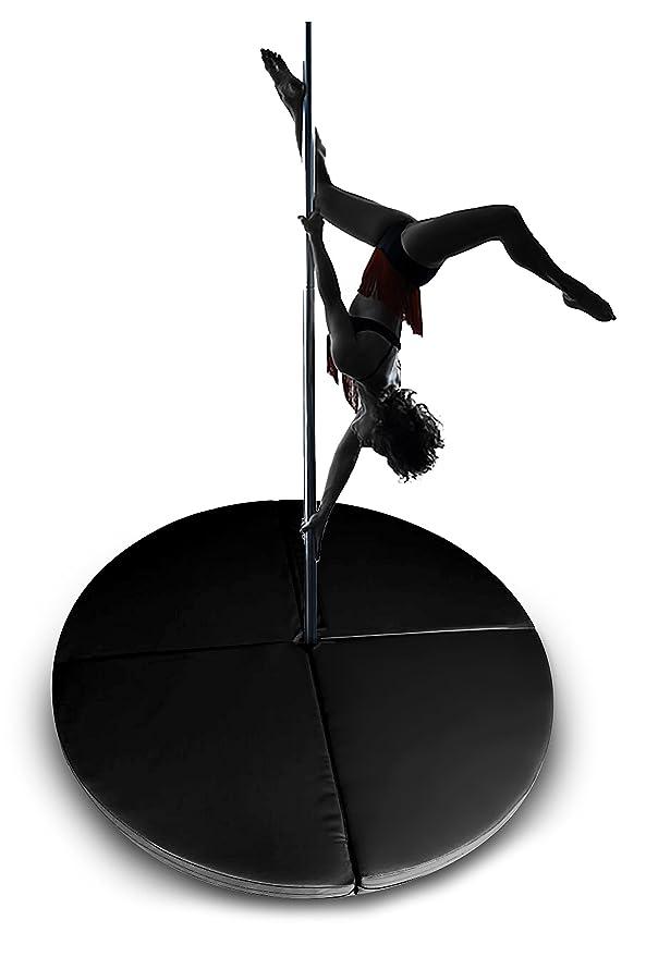 Pole Dance alfombrillas, 2 cm de grosor, 5 ft amplia Dura ...