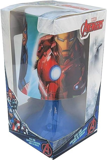 Kid Licensing Lampara de Escritorio Avengers L/ámpara