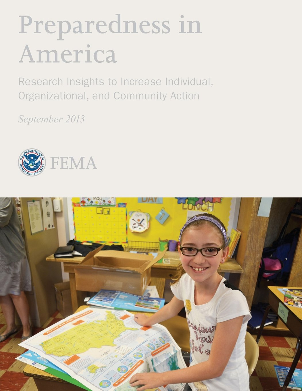 Download Preparedness in America: Research Insights to Increase Individual, Organizational, and Community Action pdf