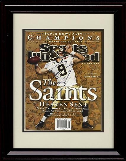 Drew Brees Sports Illustrated Autograph Replica Poster