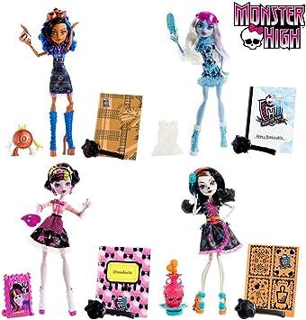 Amazon.es: Mattel - Muñeca Fashion Monster High (BDF11): Juguetes y juegos