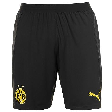 264d1f44db Amazon.com : PUMA 2018-2019 Borussia Dortmund Away Shorts (Black) : Clothing